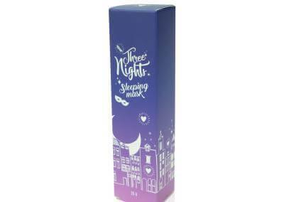 กล่องครีม Three Night Sleeping Mask