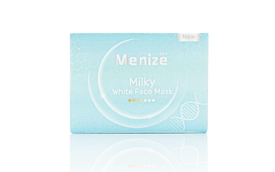 กล่องครีม Menize  Milky White Face Mask
