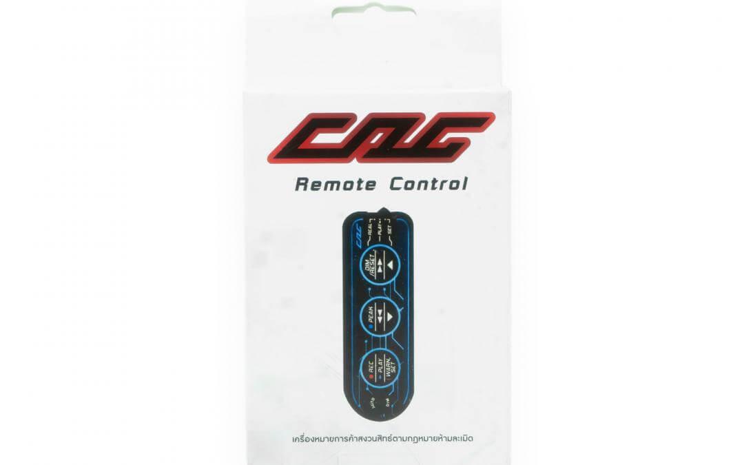 กล่องบรรจุภัณฑ์ CAG remote control