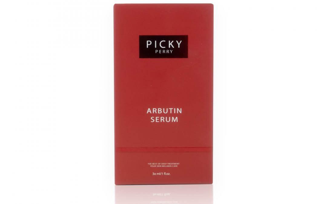 กล่องเซรั่ม PICKY PERRY Arbutin Serum