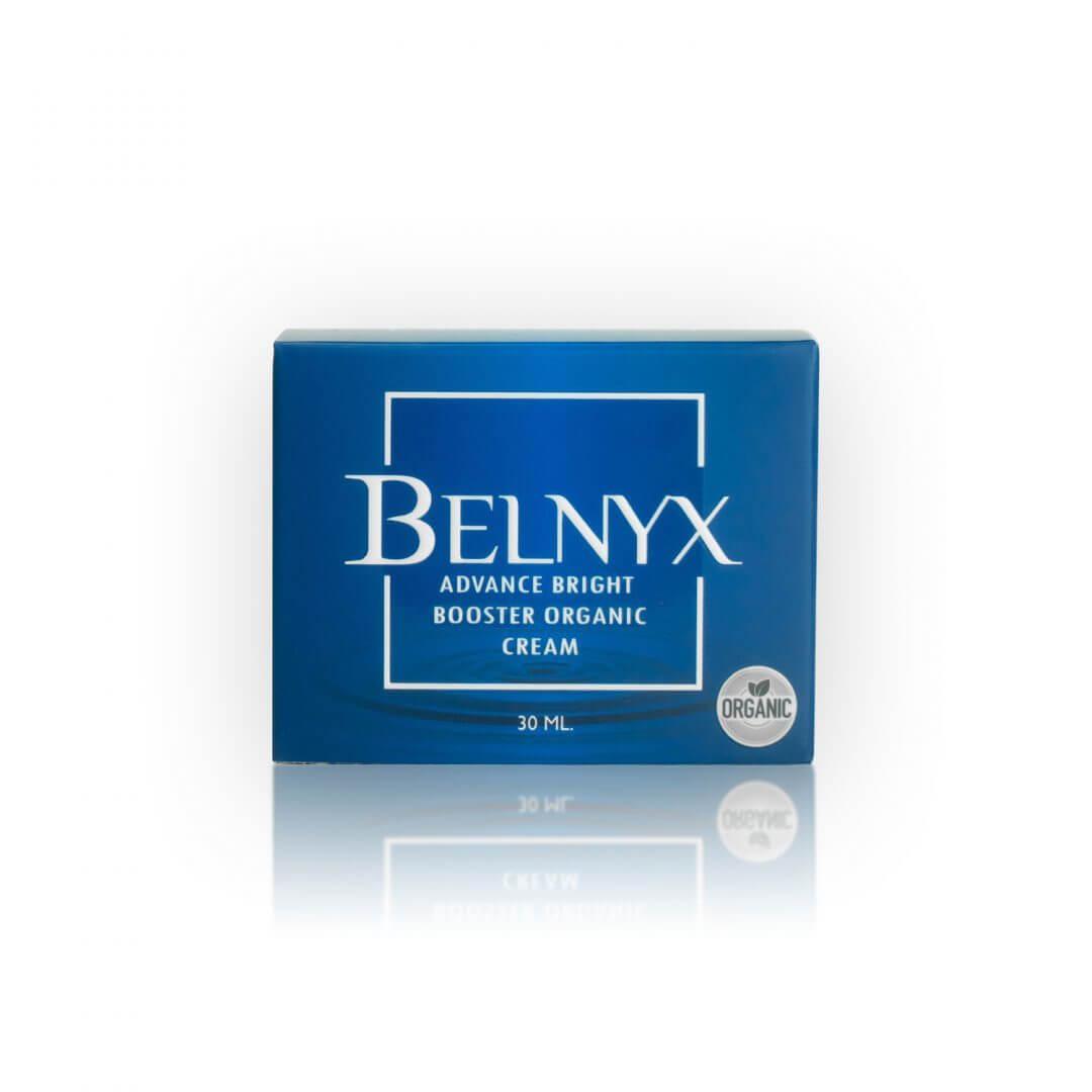กล่องครีม BELNYX Advance Bright Booster Organic Cream