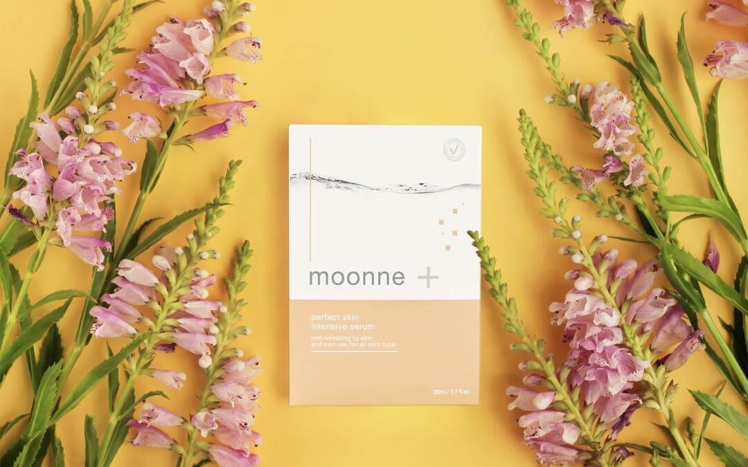 กล่อง MOONNE perfect skin intensive serum
