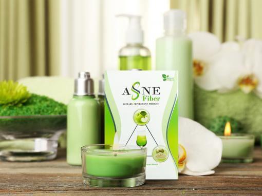 กล่องอาหารเสริม ASNE Fiber Dietary Supplement Product