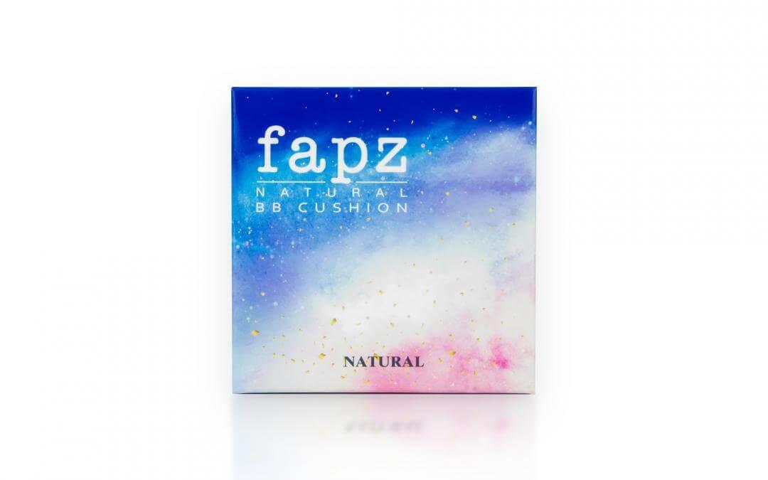 กล่องบรรจุภัณฑ์ FAPZ NATURAL BB CUSHION