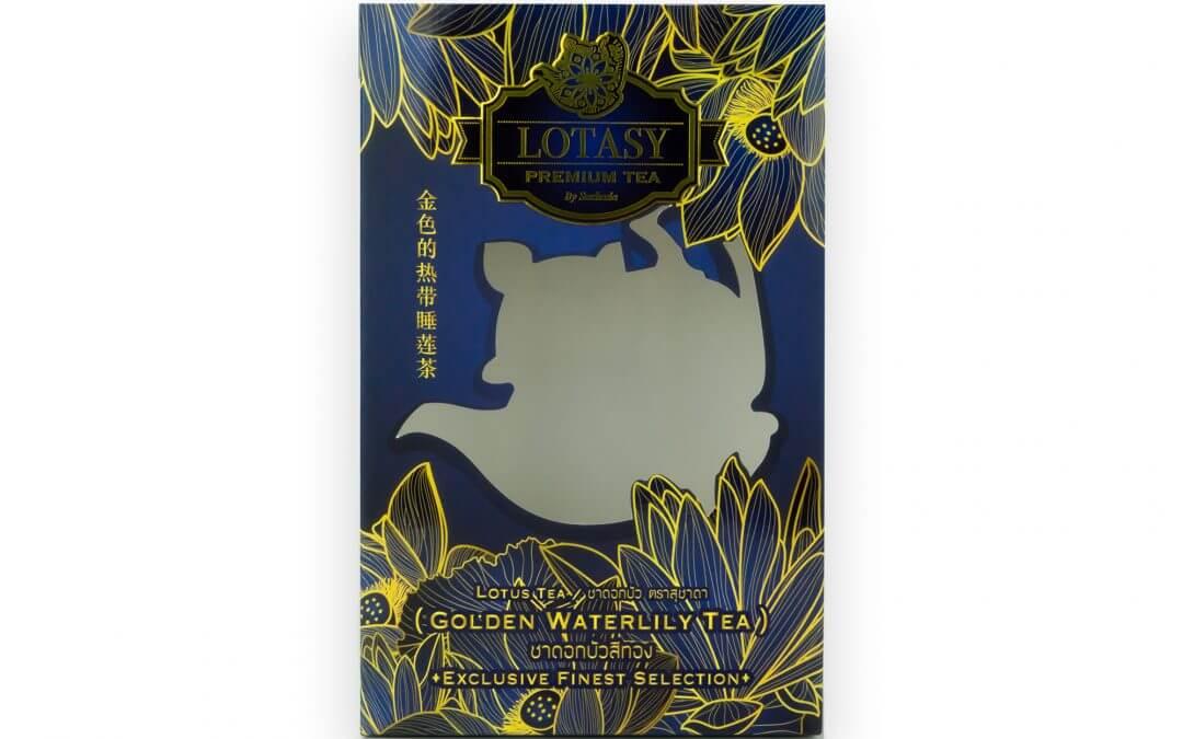 กล่องบรรจุภัณฑ์ LOTASY PREMIUM TEA