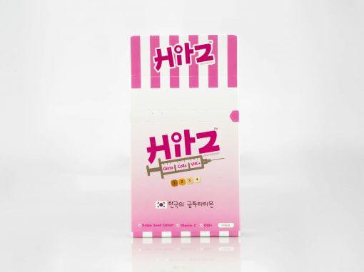 กล่องอาหารเสริม HitZ Gluta Colla VitC+