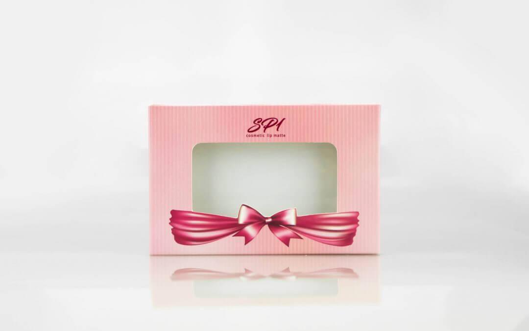 กล่องลิปสติก SP1 cosmetic lip matte
