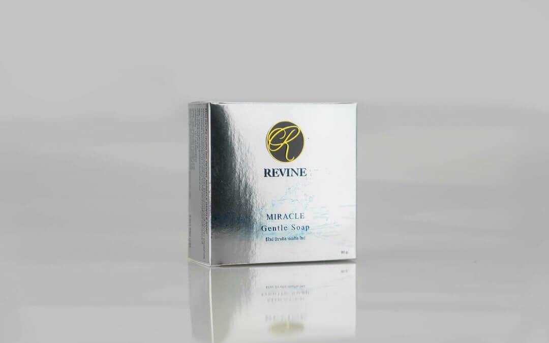 กล่องสบู่ REVINE Miracle Gentle Soap