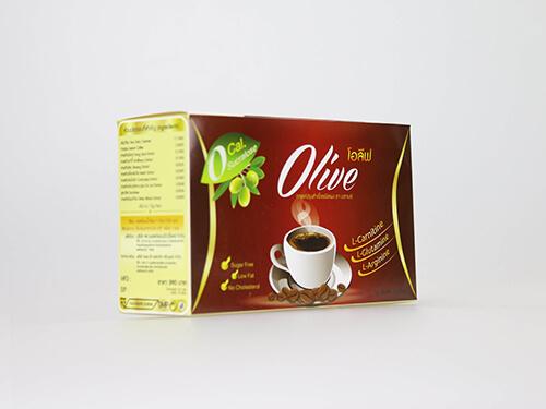 กล่องอาหารเสริม กาแฟOlive