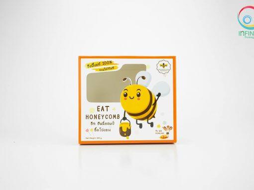 กล่องบรรจุภัณฑ์รวงผึ้ง EAT HONEYCOMB