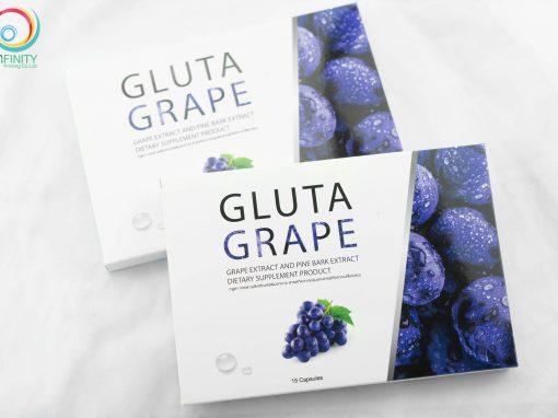 กล่องอาหารเสริม GLUTA GRAPE