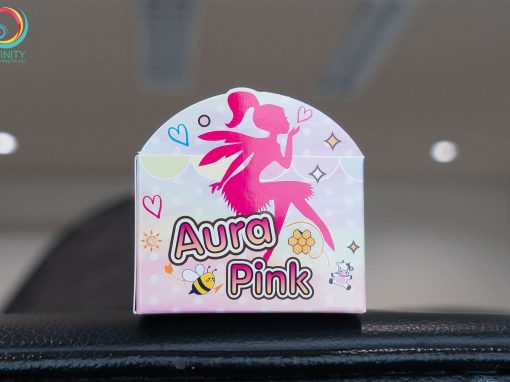 กล่องครีม Aura Pink