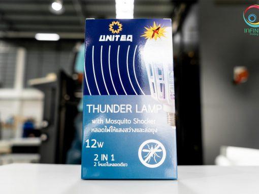 กล่องหลอดไฟ ( package)UNITEQ