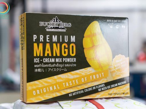 กล่องผงไอศกรีม(package)BUCKET BERG