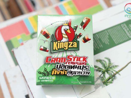 กล่องขนม(snack)kingza crapstick tempura