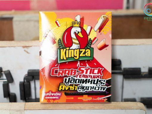 กล่องขนม(snack)kingza crapstick tempura รสดั้งเดิม