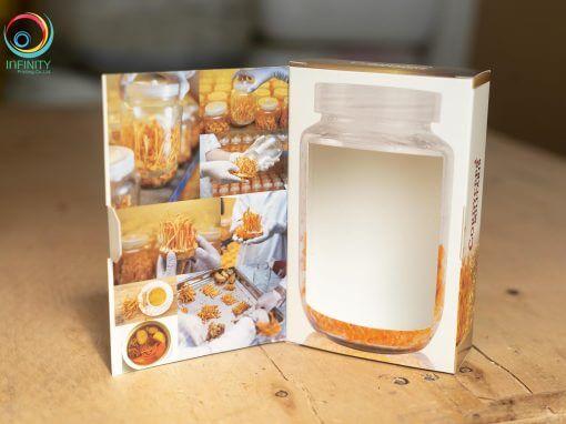 กล่องถั่งเช่าสีทอง(supplement) CORDYCEPS