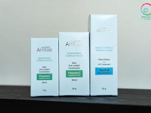 กล่องเครื่องสำอาง(cosmetic)AGE ATTITUDE