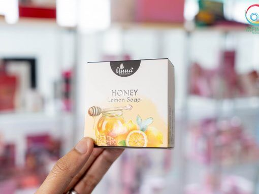 กล่องสบู่(soap) Linna HONEY Lemon Soap