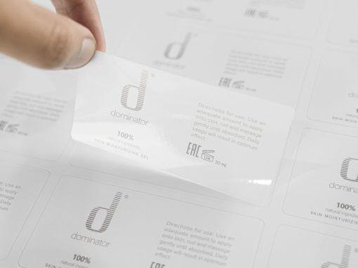 สติ๊กเกอร์(label)Diminator