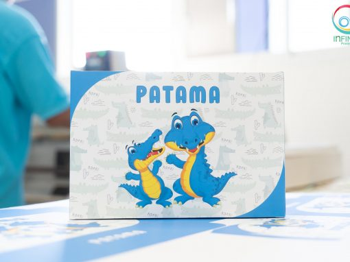 กล่องบรรจุภัณฑ์จากหนังจระเข้ PATAMA