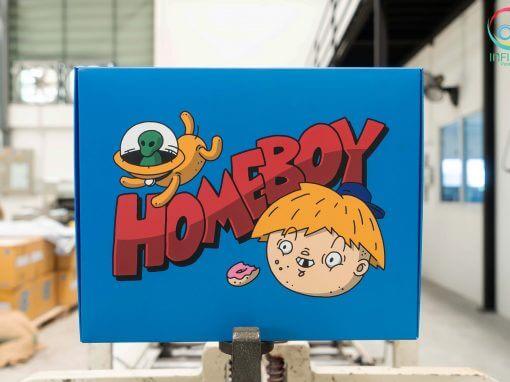 กล่องบรรจุภัณฑ์ HOMEBOY
