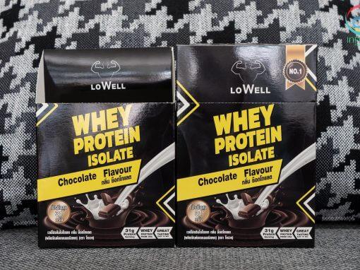 กล่องอาหารเสริม LoWELL กลิ่นช็อกโกแลต