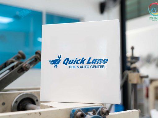 กล่องบรรจุภัณฑ์(package)Quick Lane