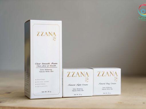 กล่องครีม ZZANNA