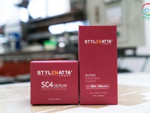 กล่องเครื่องสำอาง(cosmetic) STYLENATTA