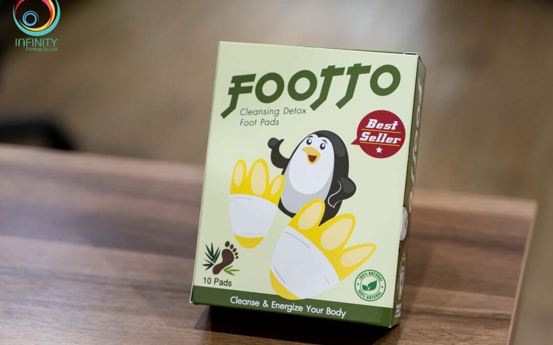 กล่องบรรจุภัณฑ์(package) FOOTTO