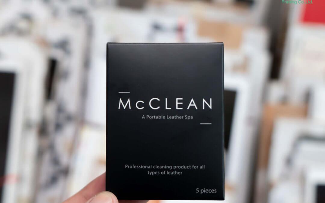 กล่องบรรจุภัณฑ์(package) McCLEAN