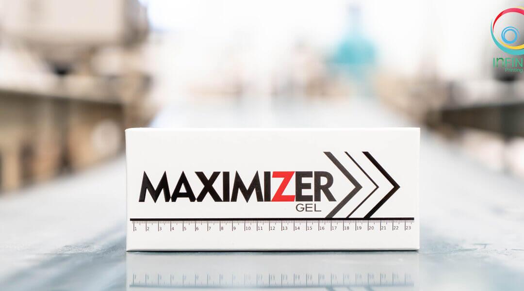 กล่องบรรจุภัณฑ์(package) MAXIMIZER GEL