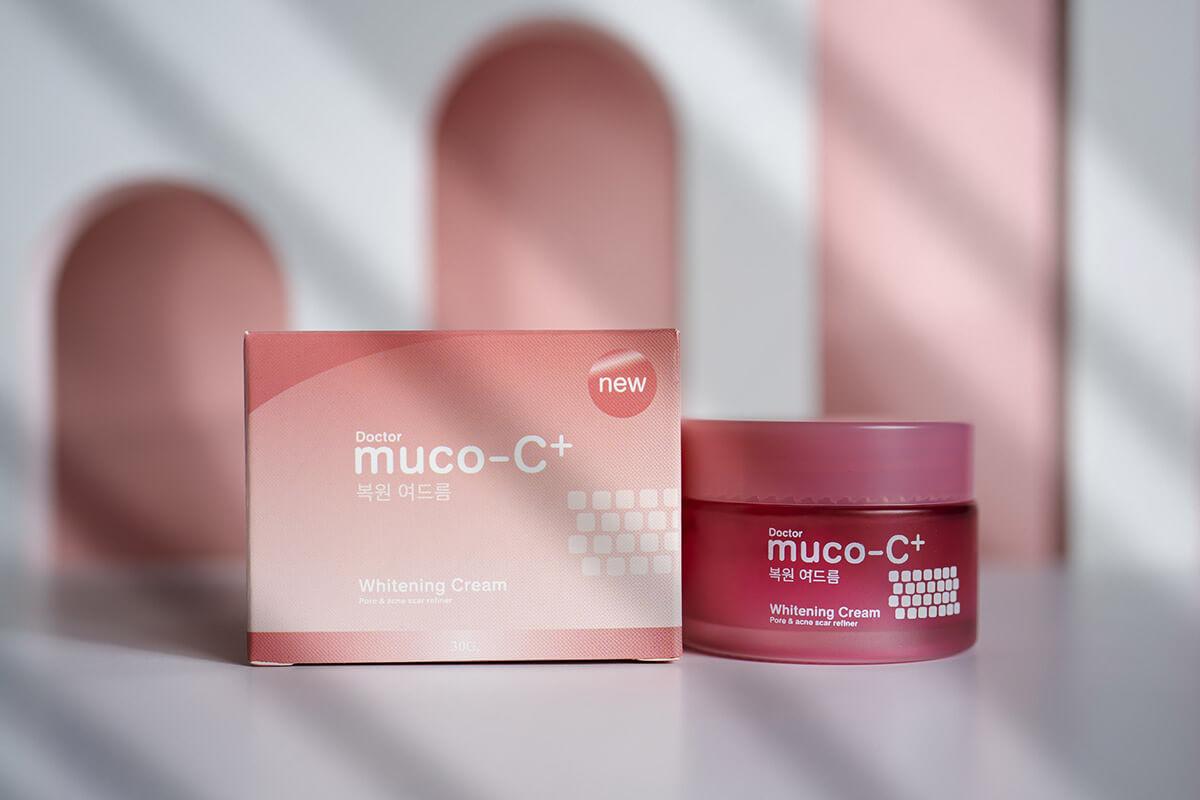 กล่องครีมDoctor muco-C+1